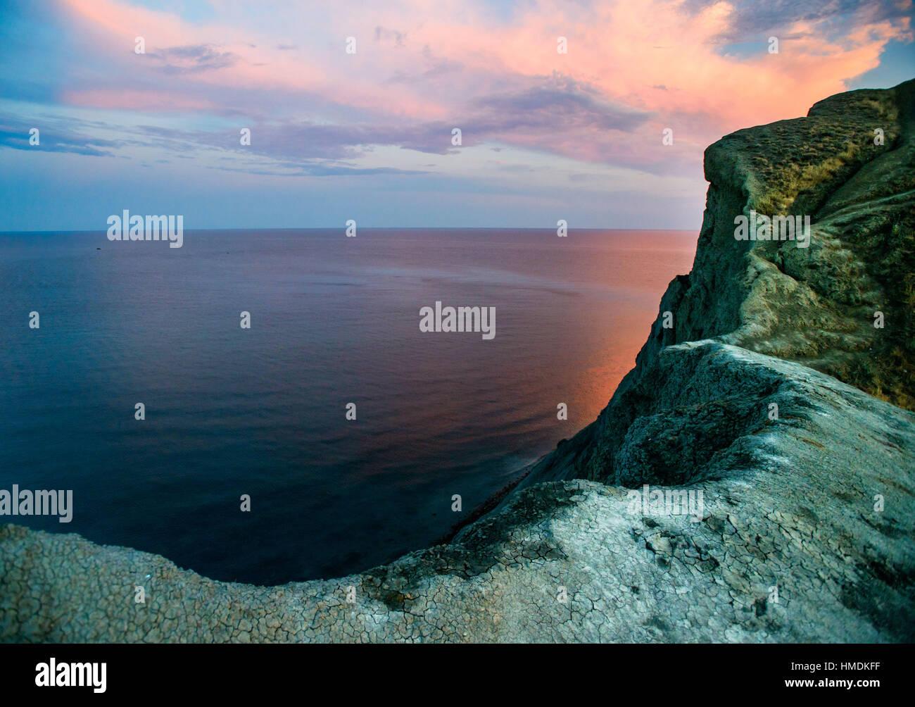 Côte de la mer Noire Photo Stock