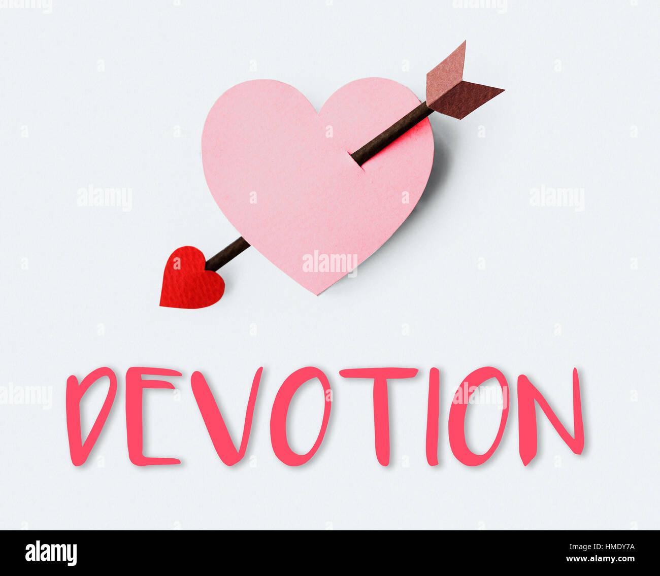 Aspiration amour Affection chérir la tendresse Concept Photo Stock