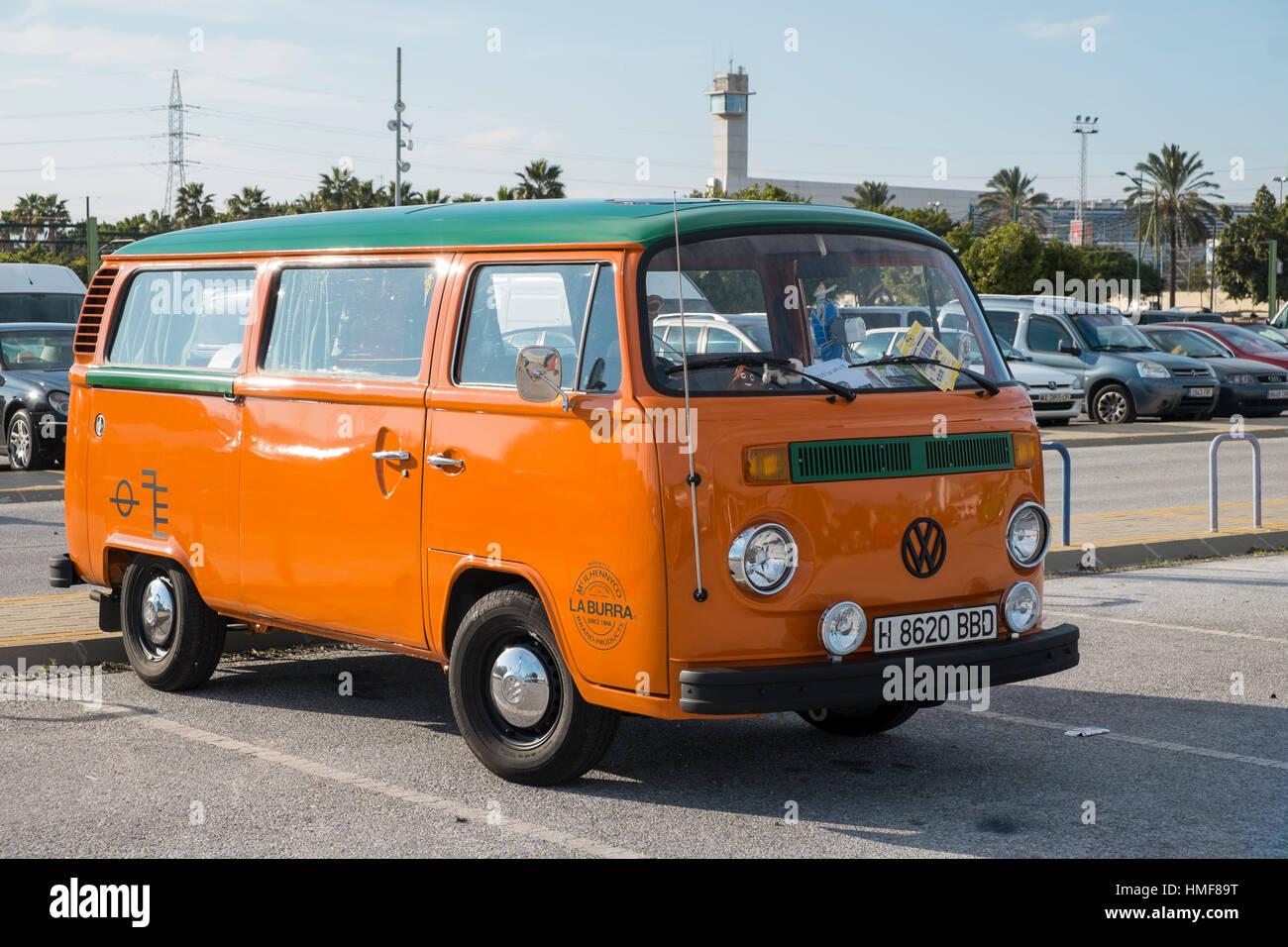 Camionnette Volkswagen Banque D'Images