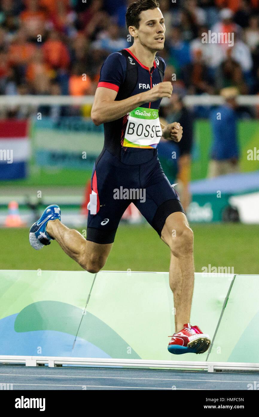 Rio de Janeiro, Brésil. 13 août 2016. L'athlétisme, Pierre-Ambroise Bosse (FRA) en compétition Photo Stock
