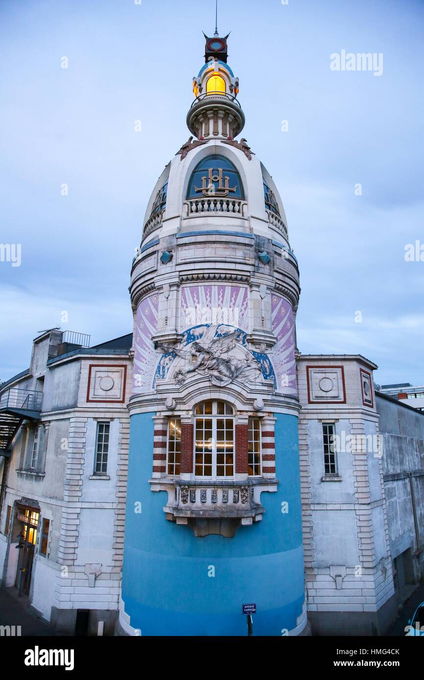 Le lieu unique, Nantes, Pays de la Loire, France Photo Stock