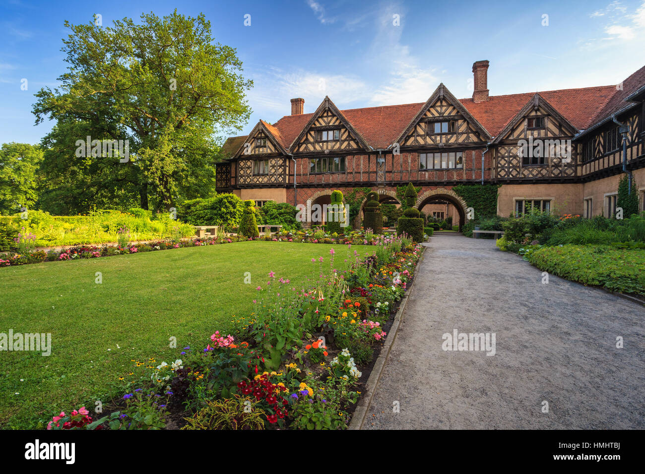 Cecilienhof, Potsdam, Allemagne Photo Stock