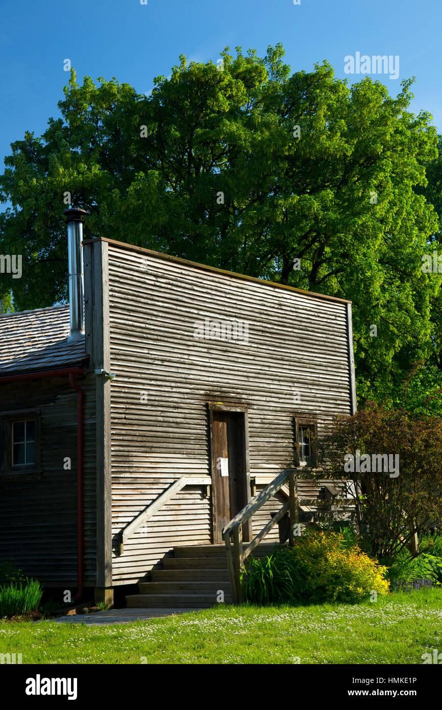 Country store, Philip Foster Farm, Lieu historique national de l'Oregon Trail, sentier historique de l'Oregon. Banque D'Images