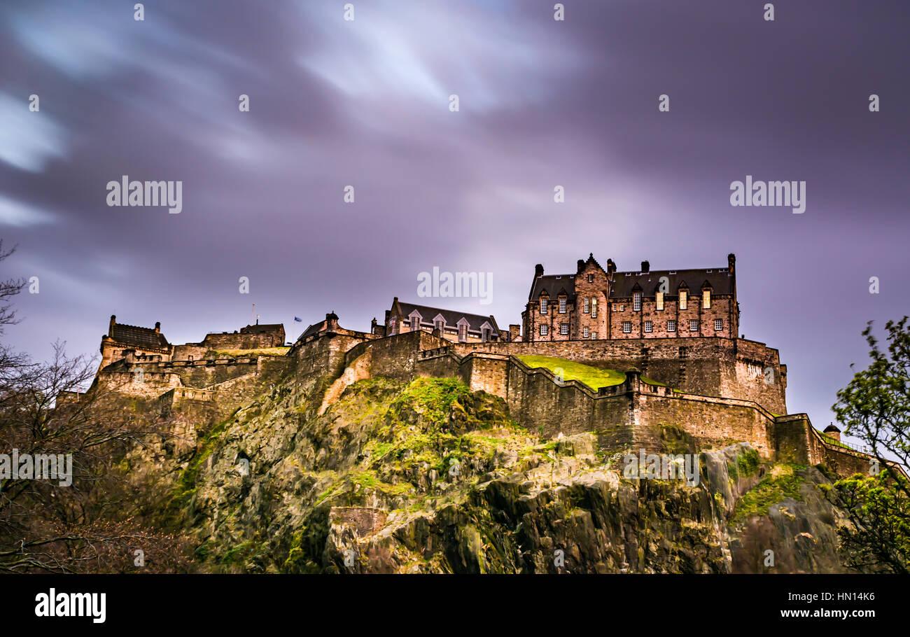 Et Édimbourg highlands Photo Stock