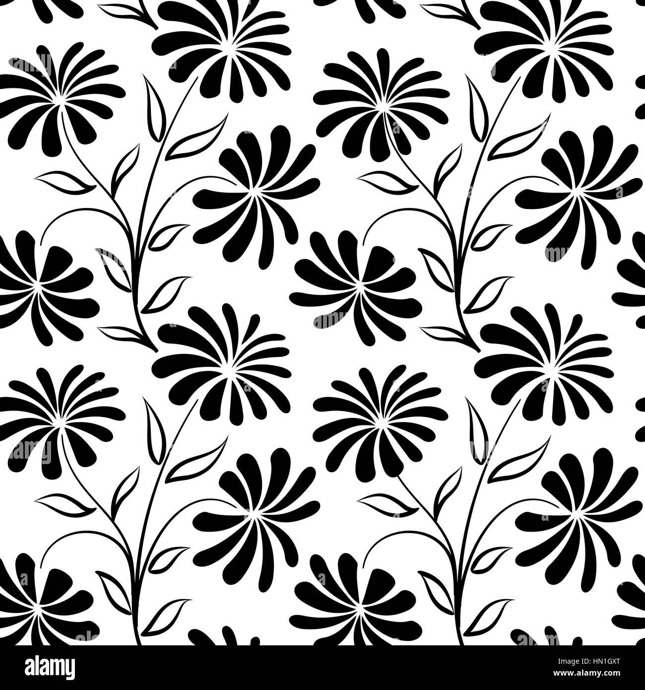 Motif Transparent Floral Bouquet De Fleurs Arriere Plan Floral