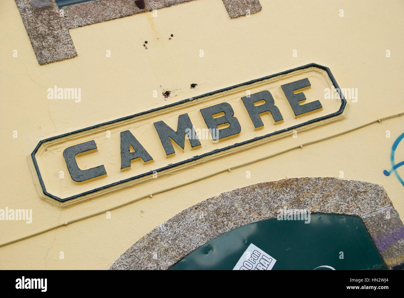 Cambre, A Coruna province, Galice, Espagne. Photo Stock