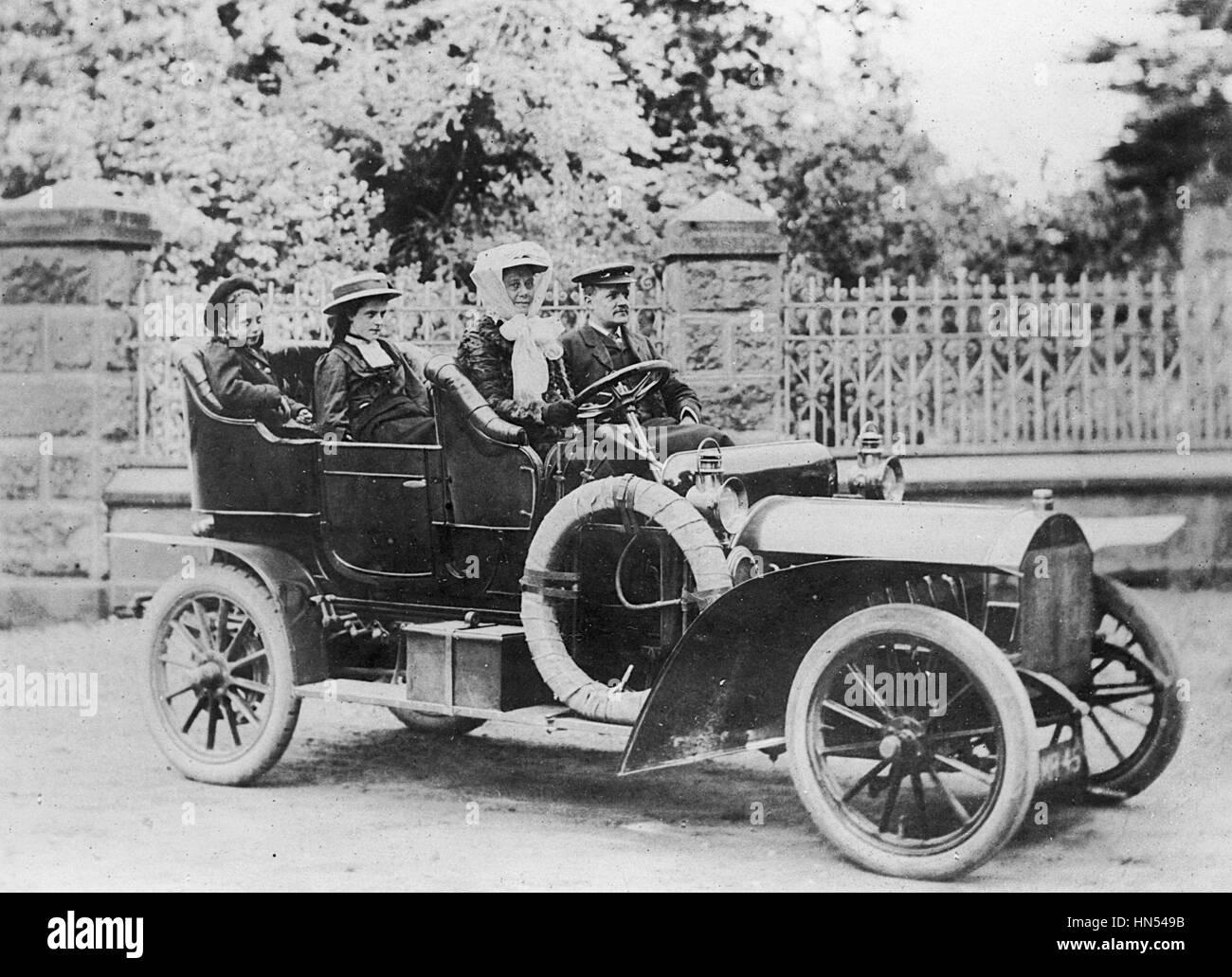 1908 Brown 20-22hp Photo Stock