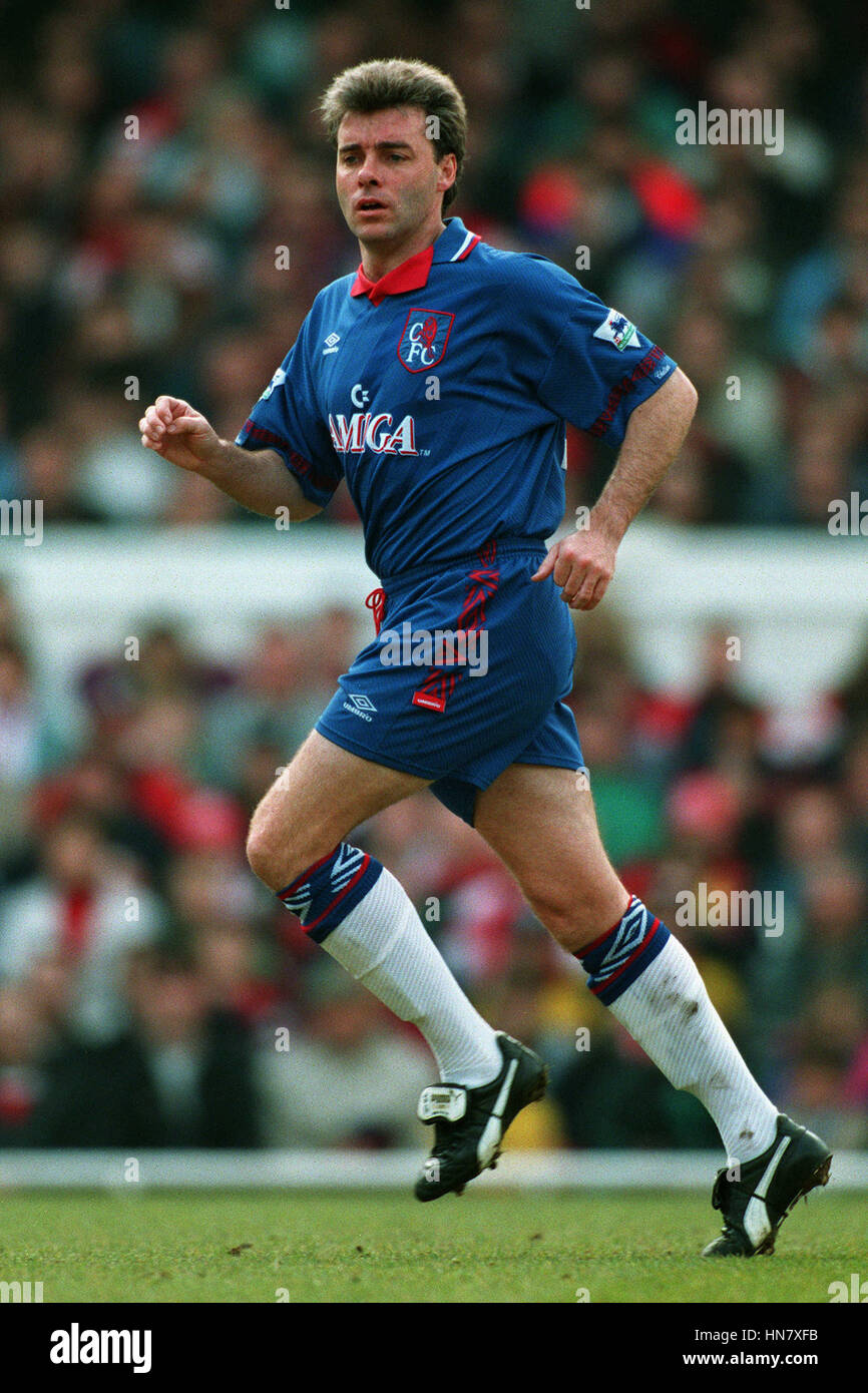 MAL DONAGHY CHELSEA FC 27 Avril 1994 Photo Stock
