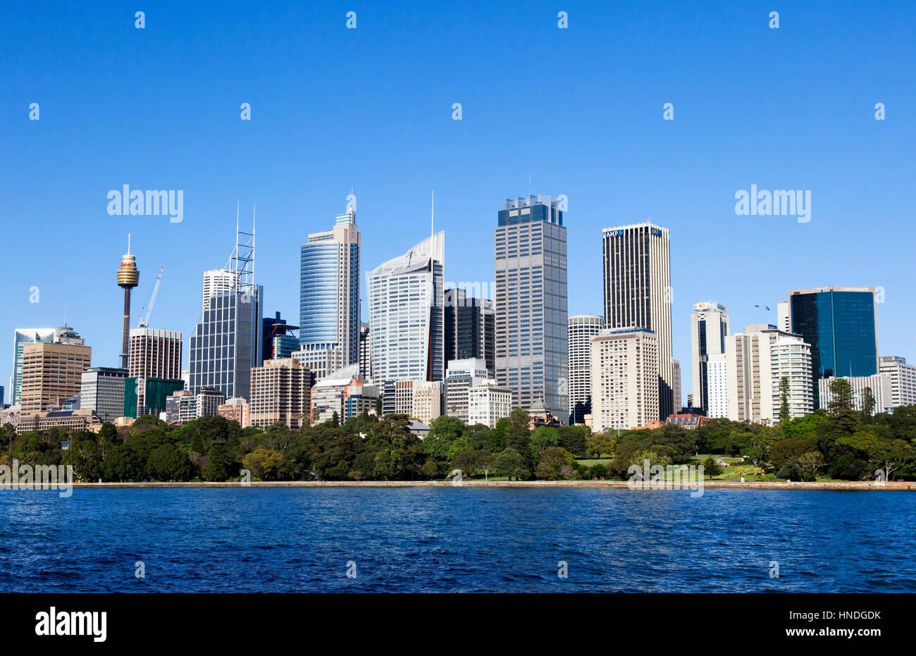 Le centre-ville de Sydney, Australie Photo Stock
