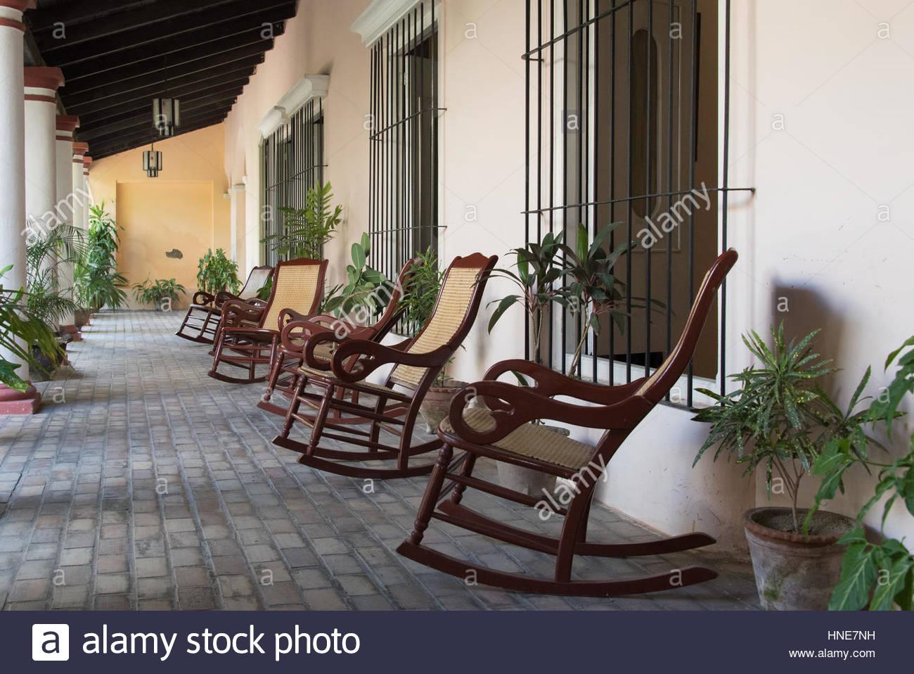 Arriere Cour Centrale Typique Des Vieilles Maisons