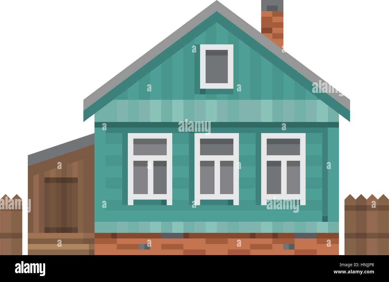 maison de campagne russe en bois ventana blog. Black Bedroom Furniture Sets. Home Design Ideas