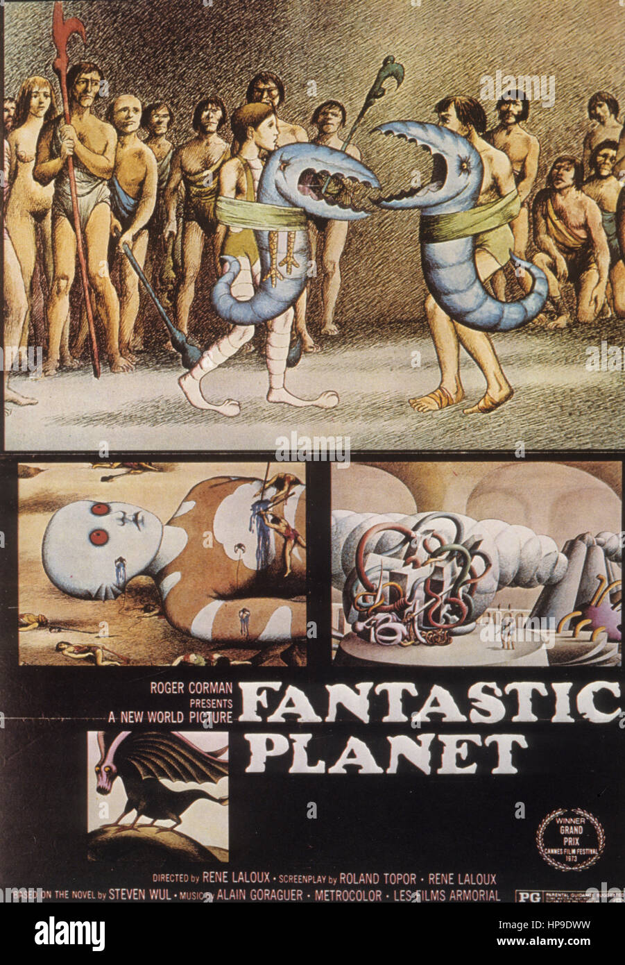 Fantastic planet, 1973 Photo Stock