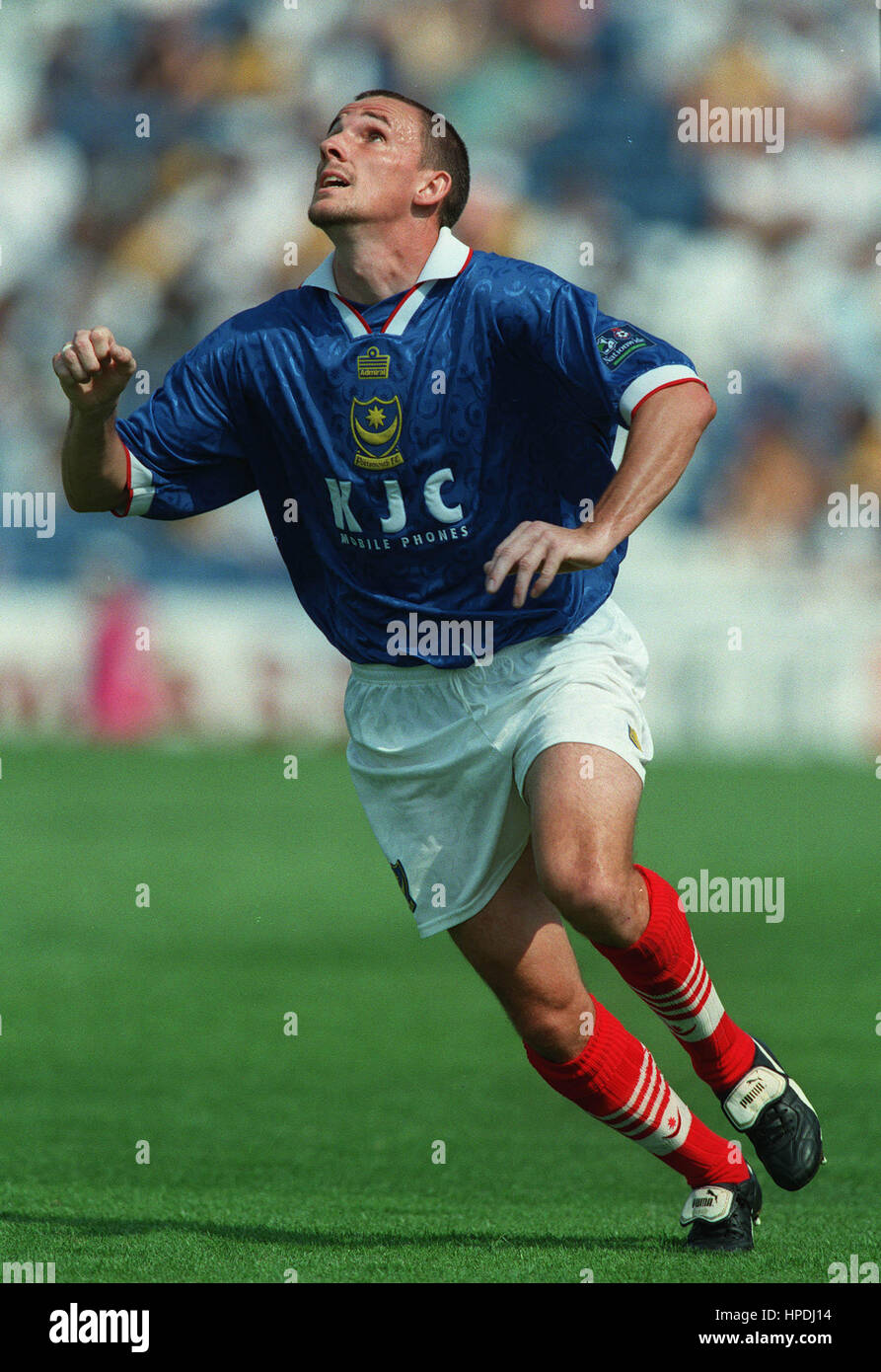 ROBBIE PETHICK PORTSMOUTH FC 18 Août 1997 Banque D'Images