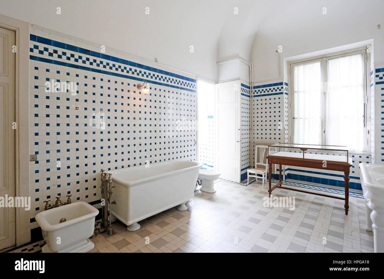 France paris 8 me arrondissement mus e nissim de camondo la salle de bains banque d 39 images - Salon de la salle de bain paris ...
