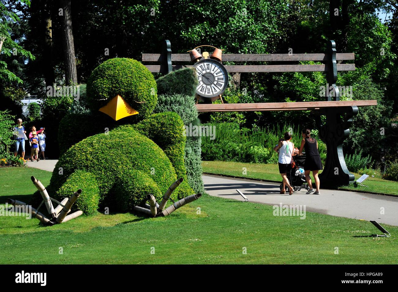 France, Loire-Atlantique, Nantes, Jardin des Plantes, l\'usine ...