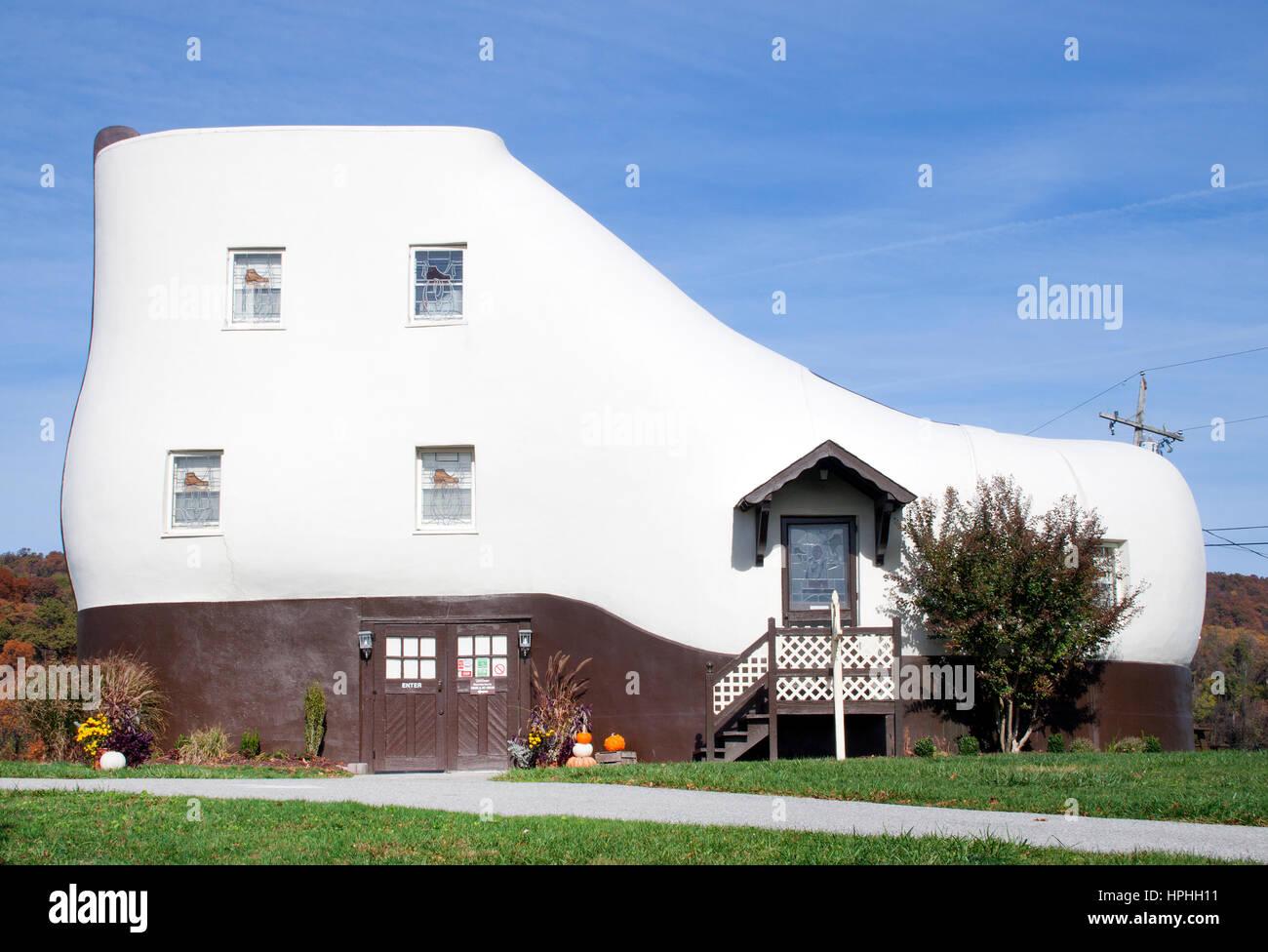Maison en forme de fer en Pennsylvanie Hellam Photo Stock