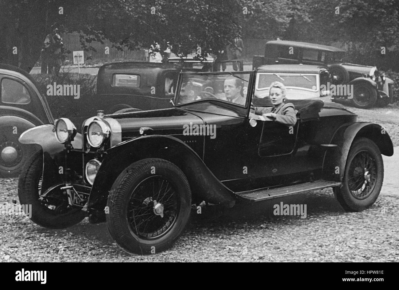 Delage 14/40 1927 Photo Stock