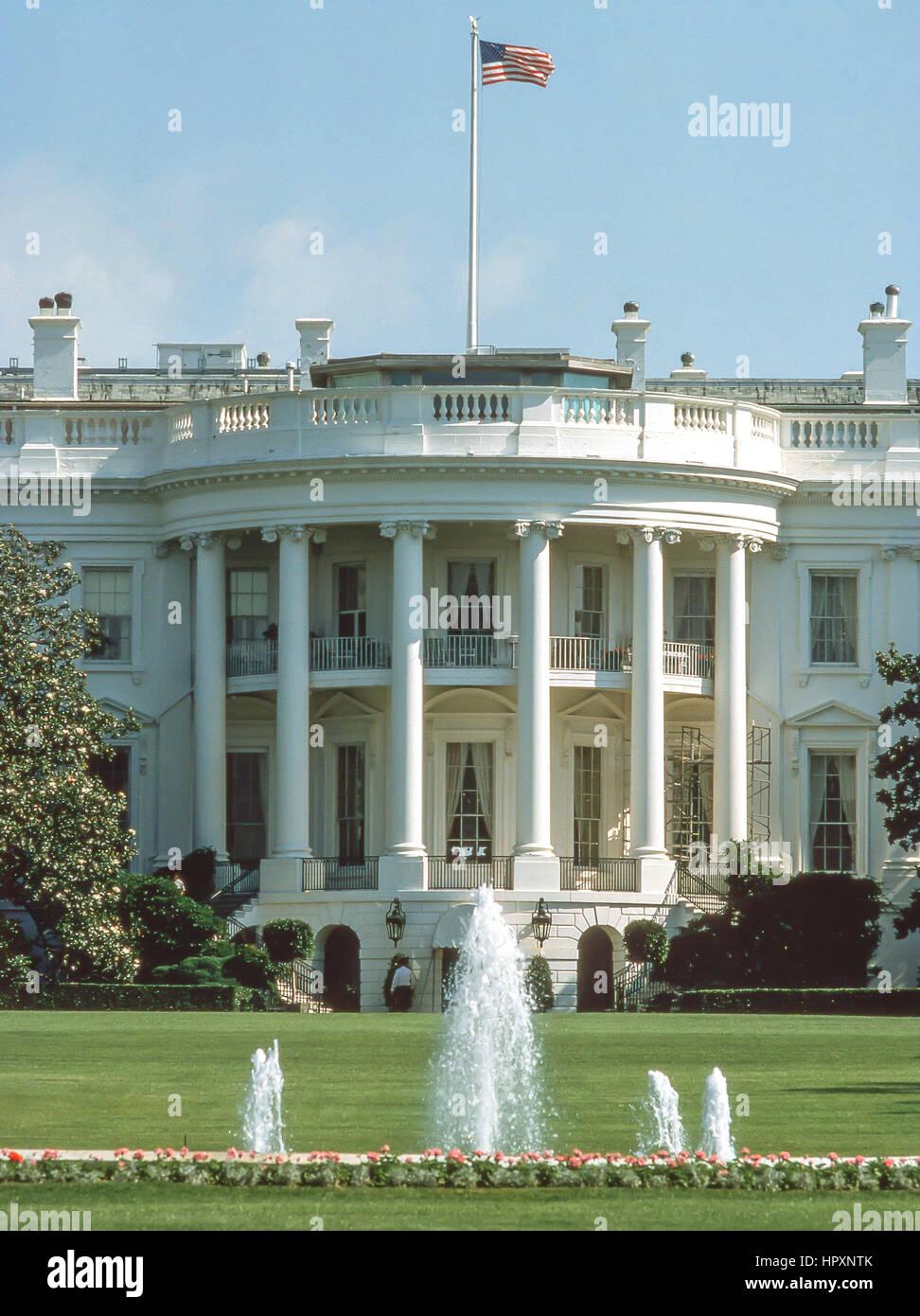 La maison blanche pennsylvania avenue washington dc états unis damérique