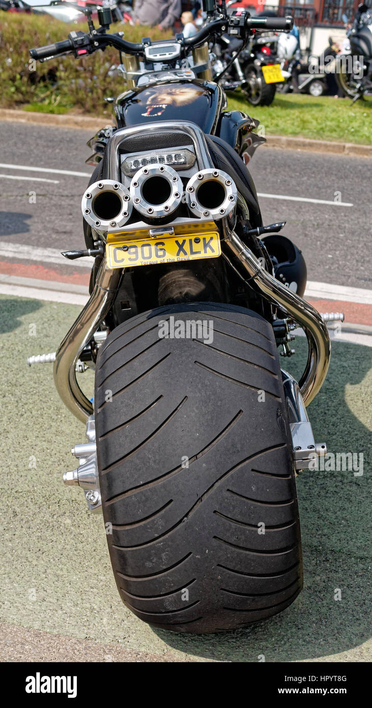 Rear Tyre Photos Rear Tyre Images Alamy