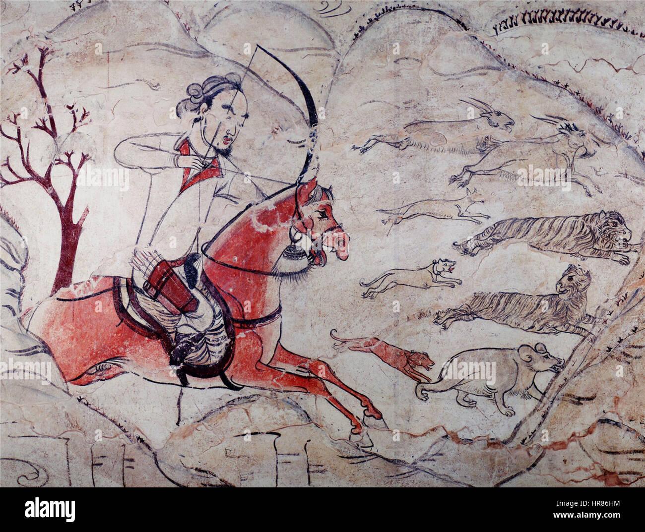 Tombe de la dynastie Qi du Nord dans Jiuyuangang 2a05dcf49dd