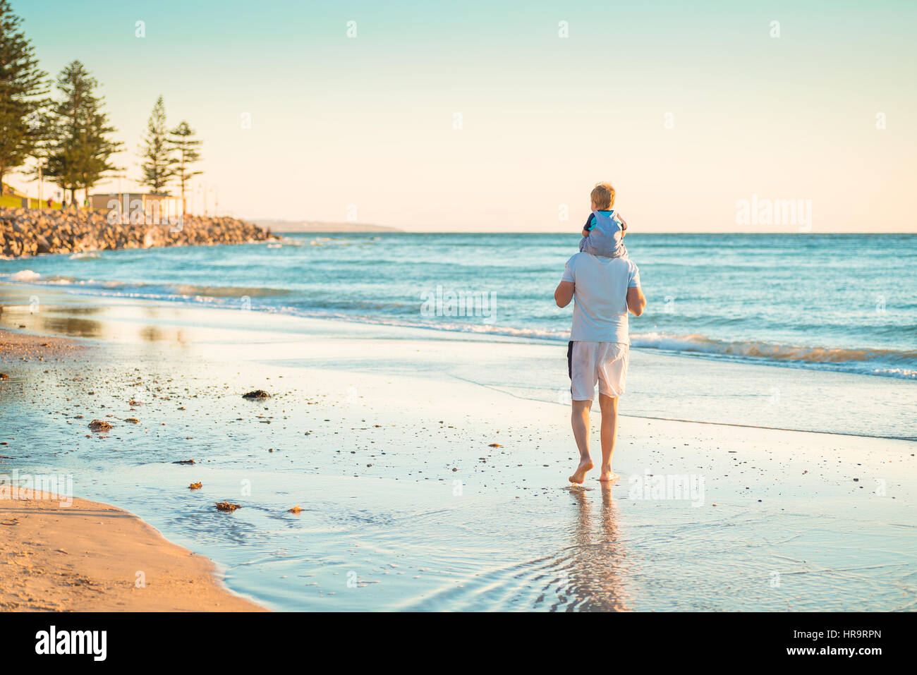 De on beach Photo Stock