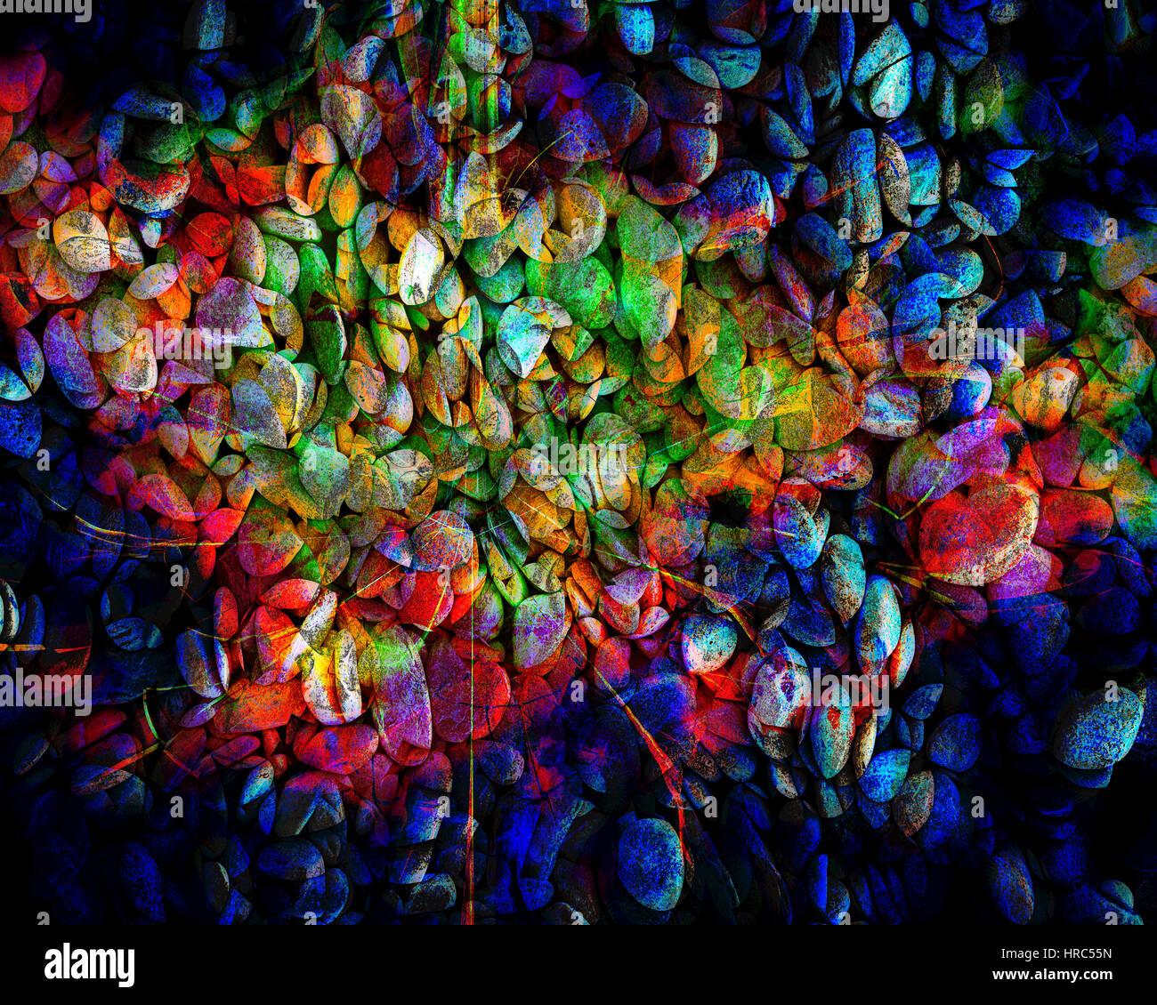 L'ART NUMÉRIQUE: Stoned Photo Stock