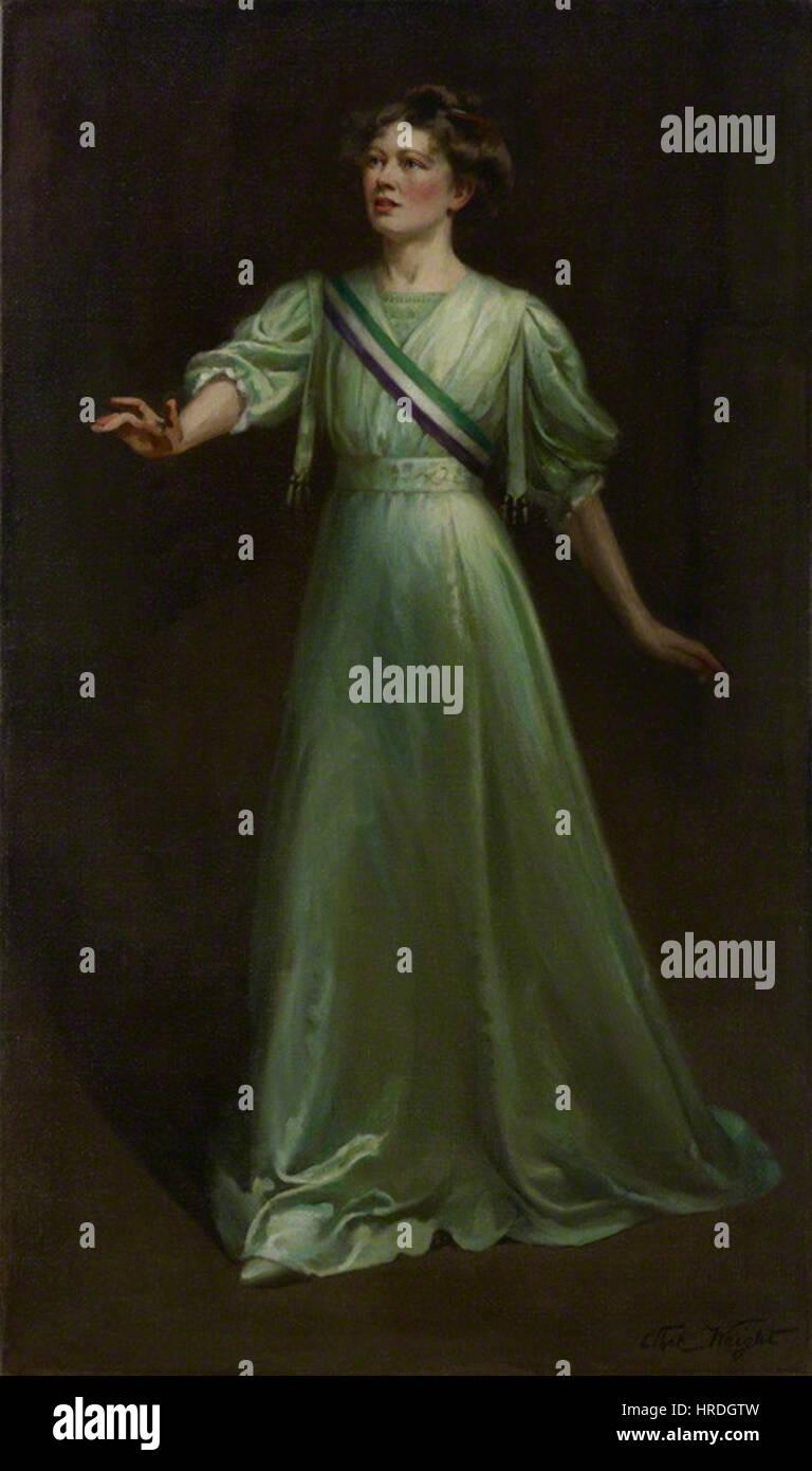 Ethel Wright - Sylvain Pankhurst Banque D'Images