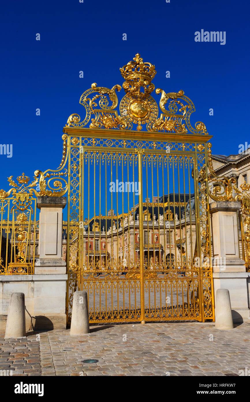 Château de Versailles, FranceGate Photo Stock