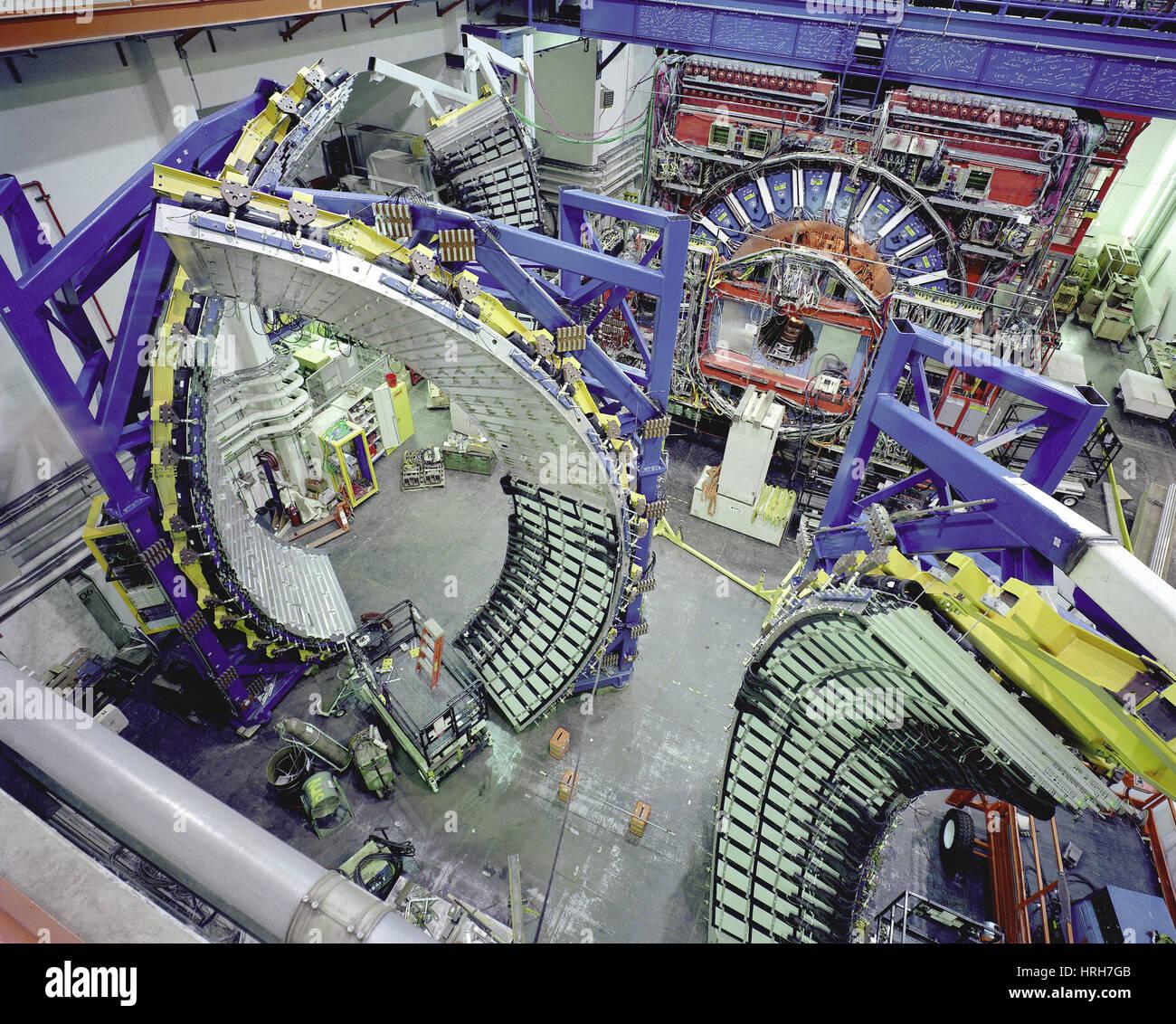 Centrale de détection au Fermilab Photo Stock