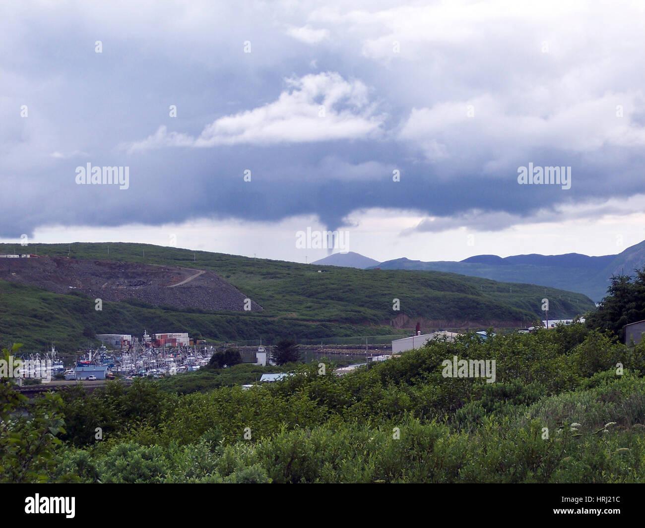 Tornade dans l'Alaska, 2005 Photo Stock