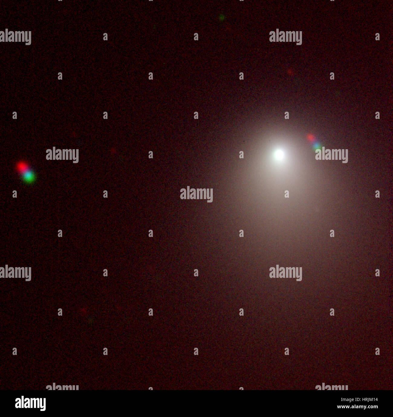 La comète Tempel 1 Avant 2005, Deep Impact Photo Stock