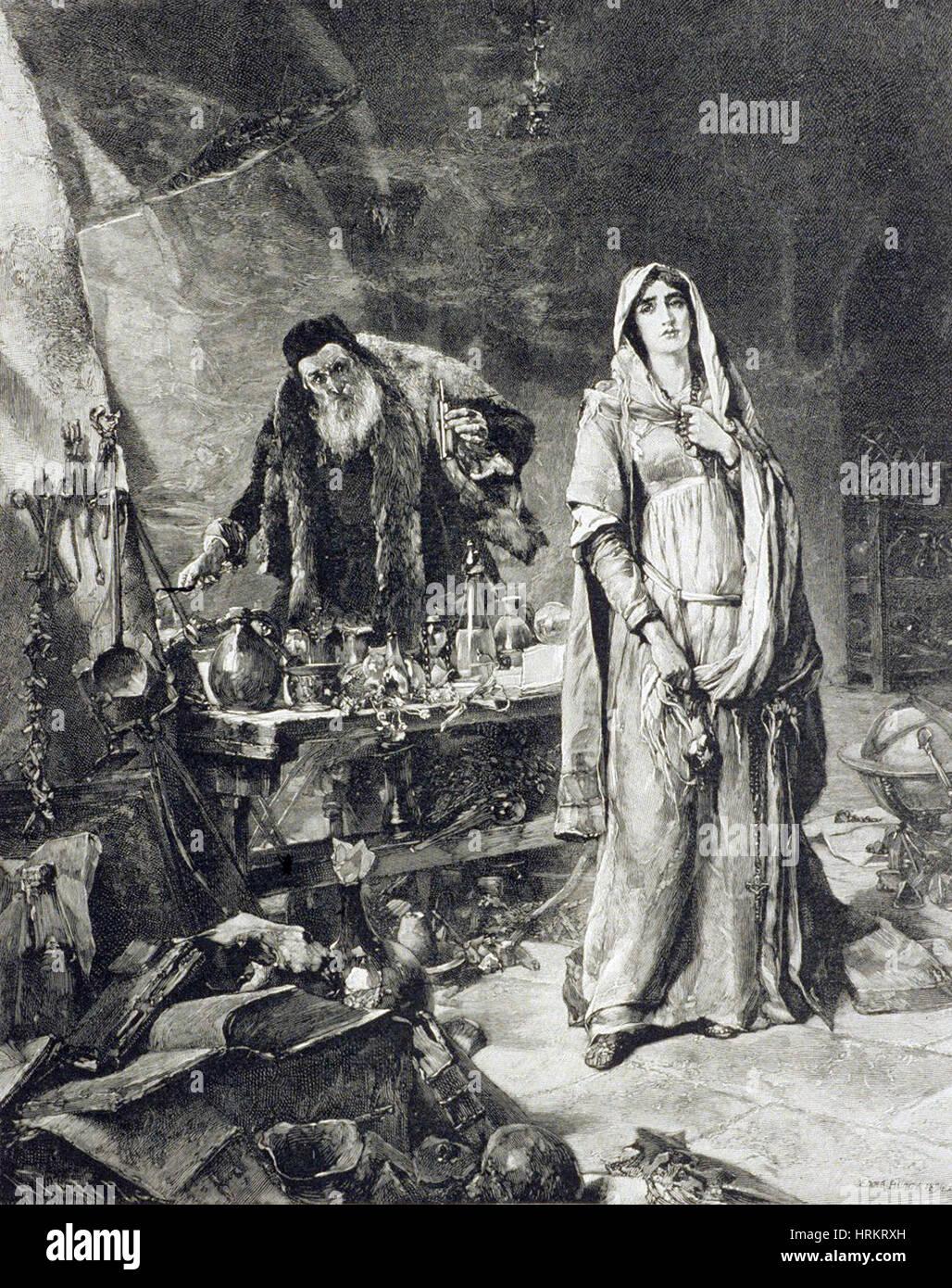 Philtre d'amour, 1894 Banque D'Images