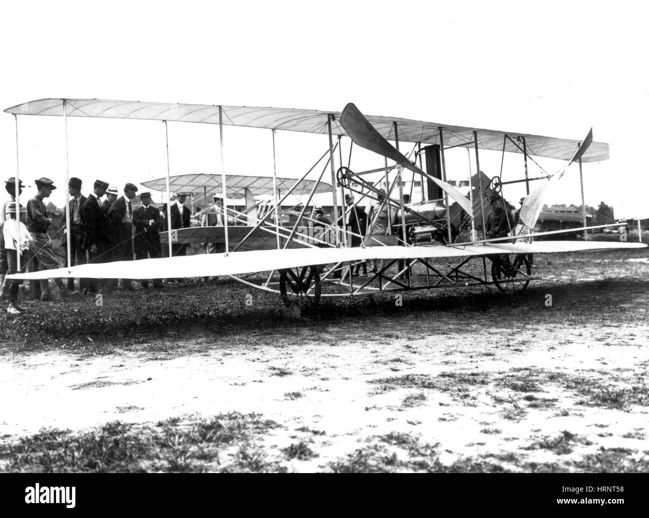 Militaire d'abord Wright Flyer, Signal Corps Avion n° 1, 1908 Banque D'Images