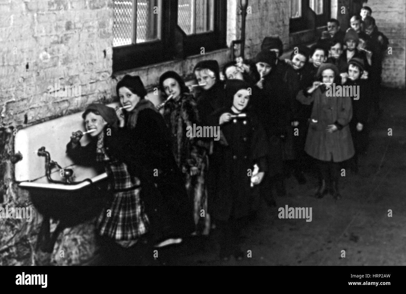 Brosse à dent percer, 20e siècle Photo Stock