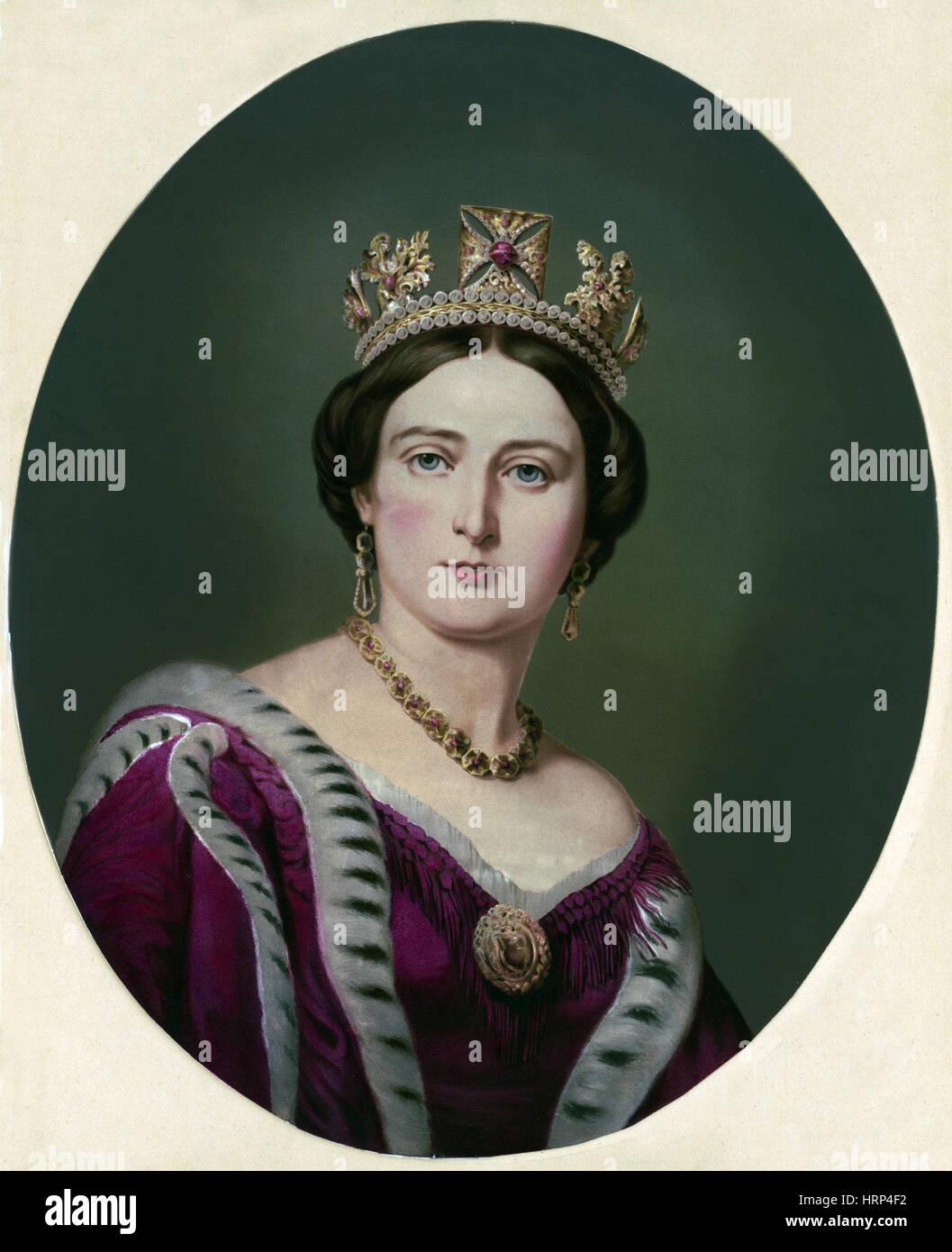 Victoria, reine d'Angleterre Photo Stock