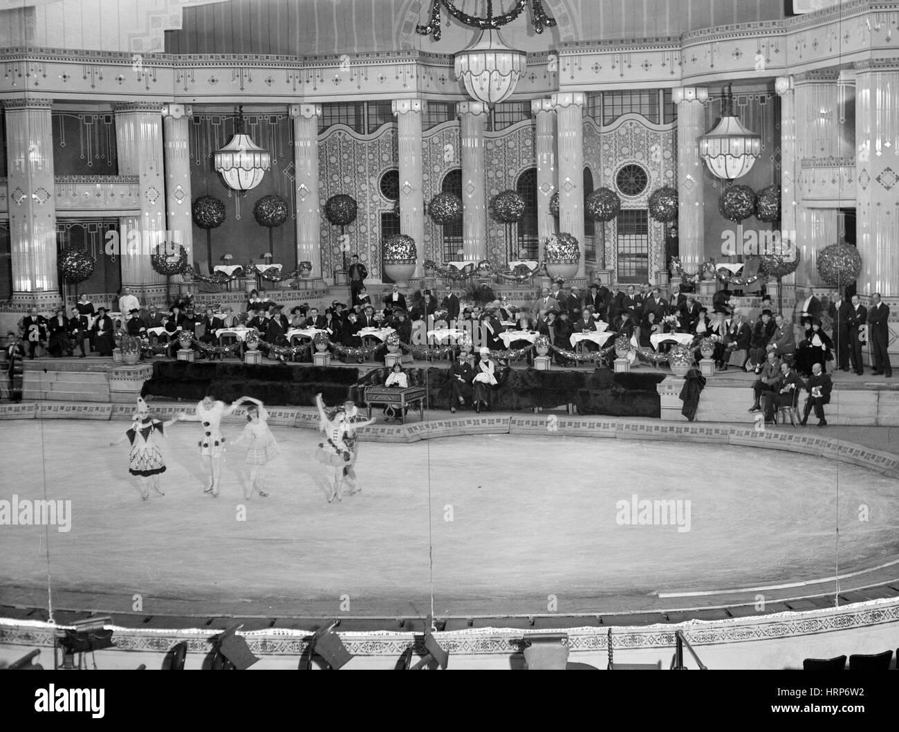 Paris, Théâtre de l'Hippodrome, 1915-20 Photo Stock