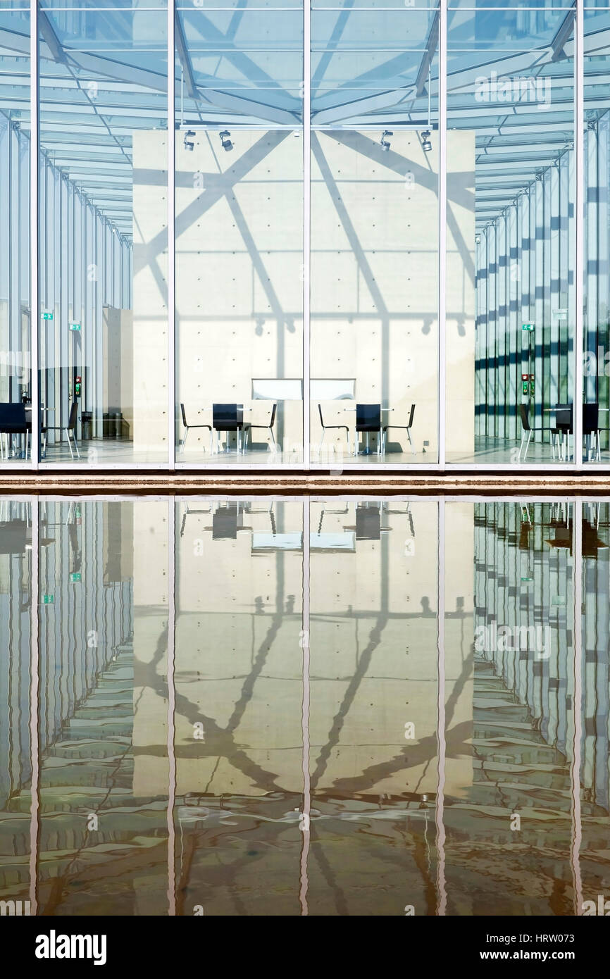 Architecte Bas Rhin art museum et langen foundation, de l'architecture de tadao