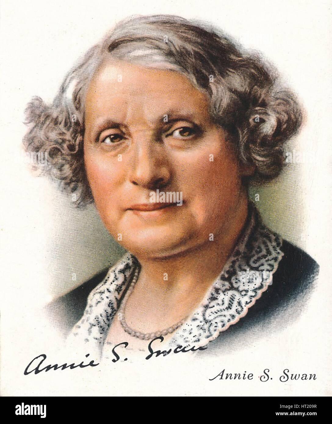 Annie S Swan, 1937. Artiste: Inconnu. Banque D'Images