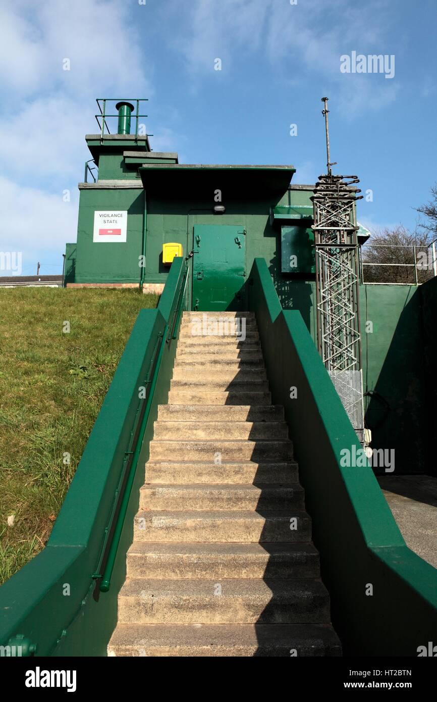 Bunker de la guerre froide de New York, North Yorkshire, 2011. Artiste: Angleterre historique commandé Photo Stock
