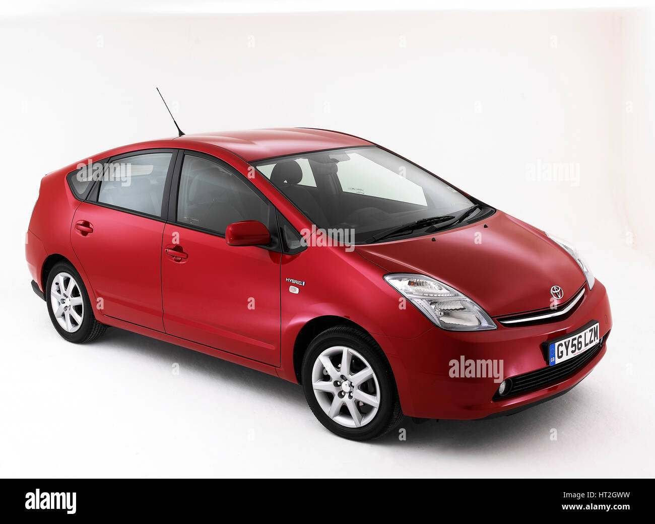 2006 Toyota Prius hybride artiste : Inconnu. Photo Stock