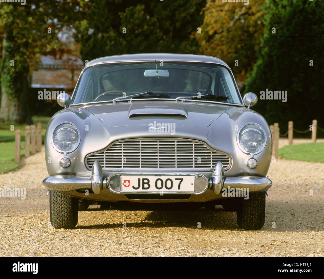 1965 Aston Martin DB5, James Bond. Artiste: Inconnu. Photo Stock