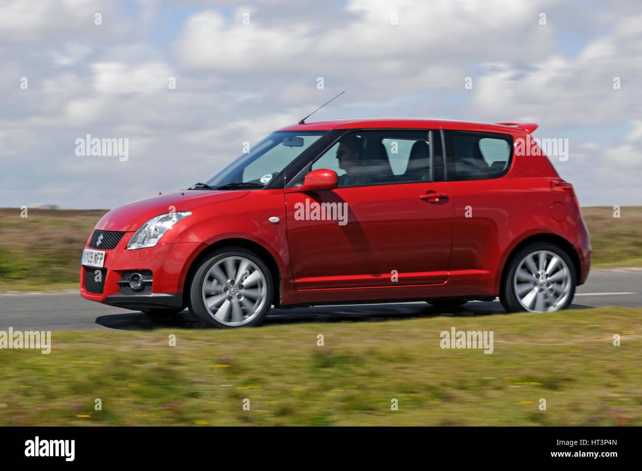 2009 Suzuki Swift Sport: Artiste inconnu. Banque D'Images