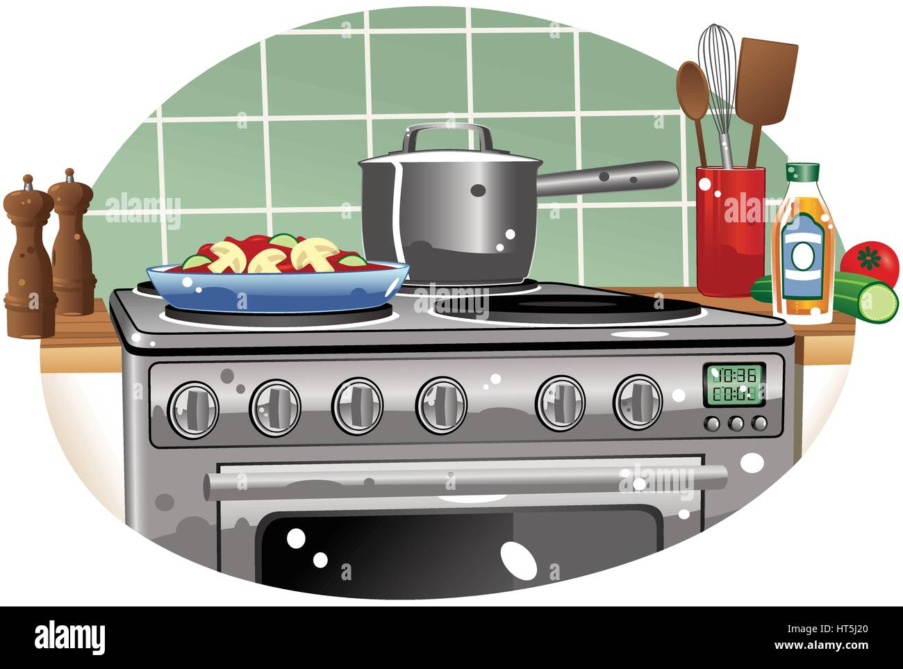 Dessus De Cuisiniere Vitroceramique electric cooker hob photos & electric cooker hob images - alamy