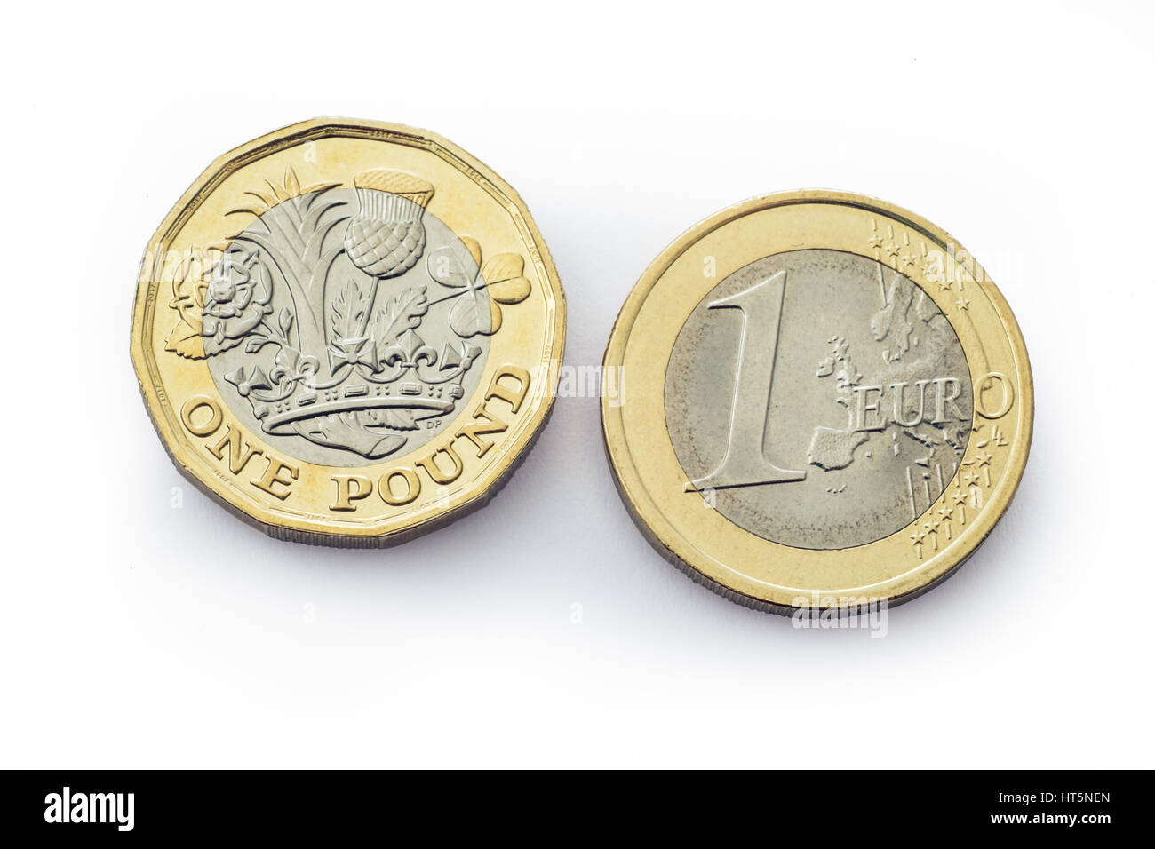 New One Pound Coin Photos New One Pound Coin Images Alamy