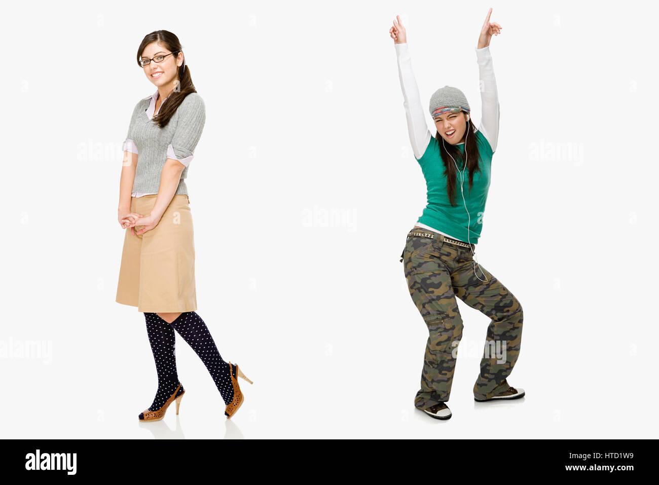 Geek et patineur Banque D Images 7ca0691aa13