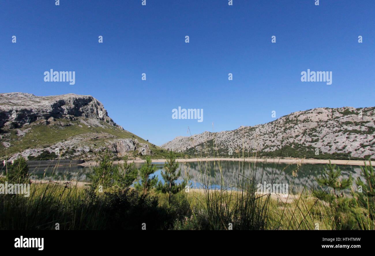 Patrimoine mondial de l'Unesco de Tramuntana à Majorque d'aires protégées Photo Stock