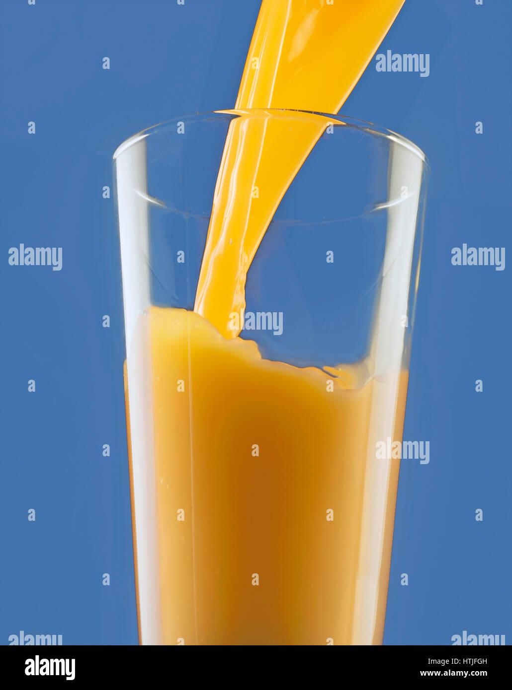 jus d'orange Banque D'Images
