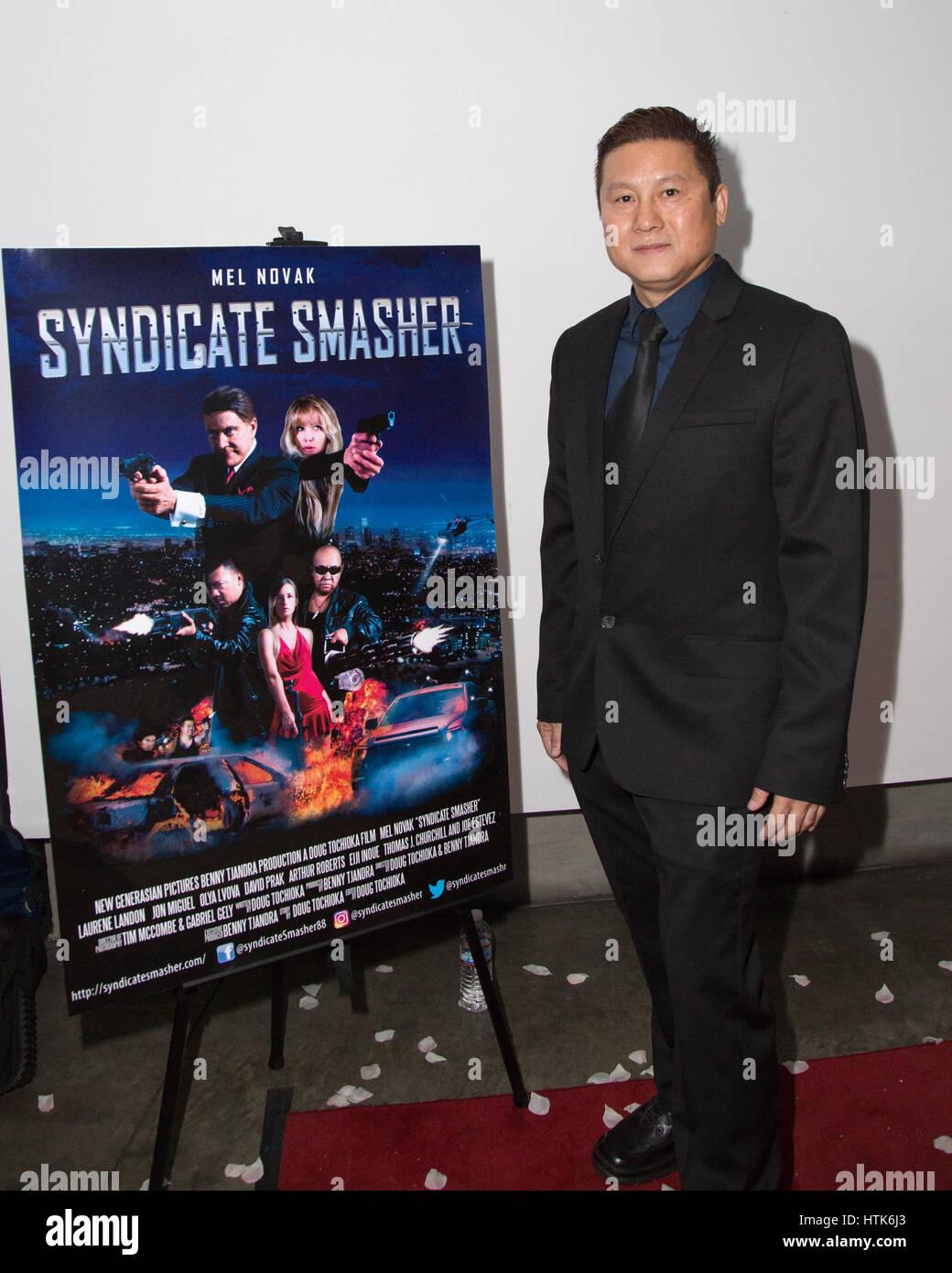 Los Angeles, Californie, USA. 11 mars, 2017. directeur benny tjandra assiste à la première mondiale de Photo Stock
