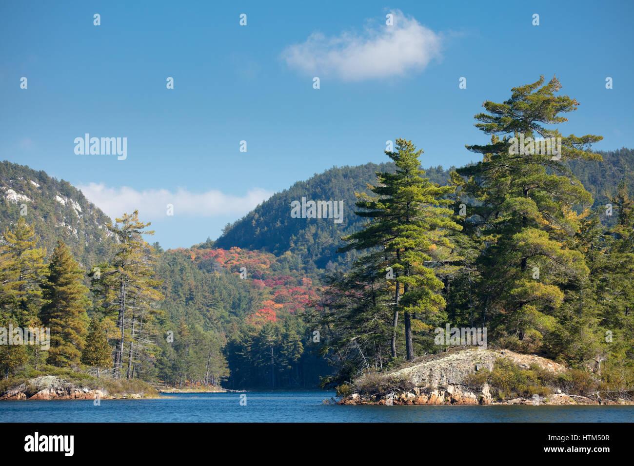Grace Lake, Killarney Provincial Park, Ontario, Canada Banque D'Images