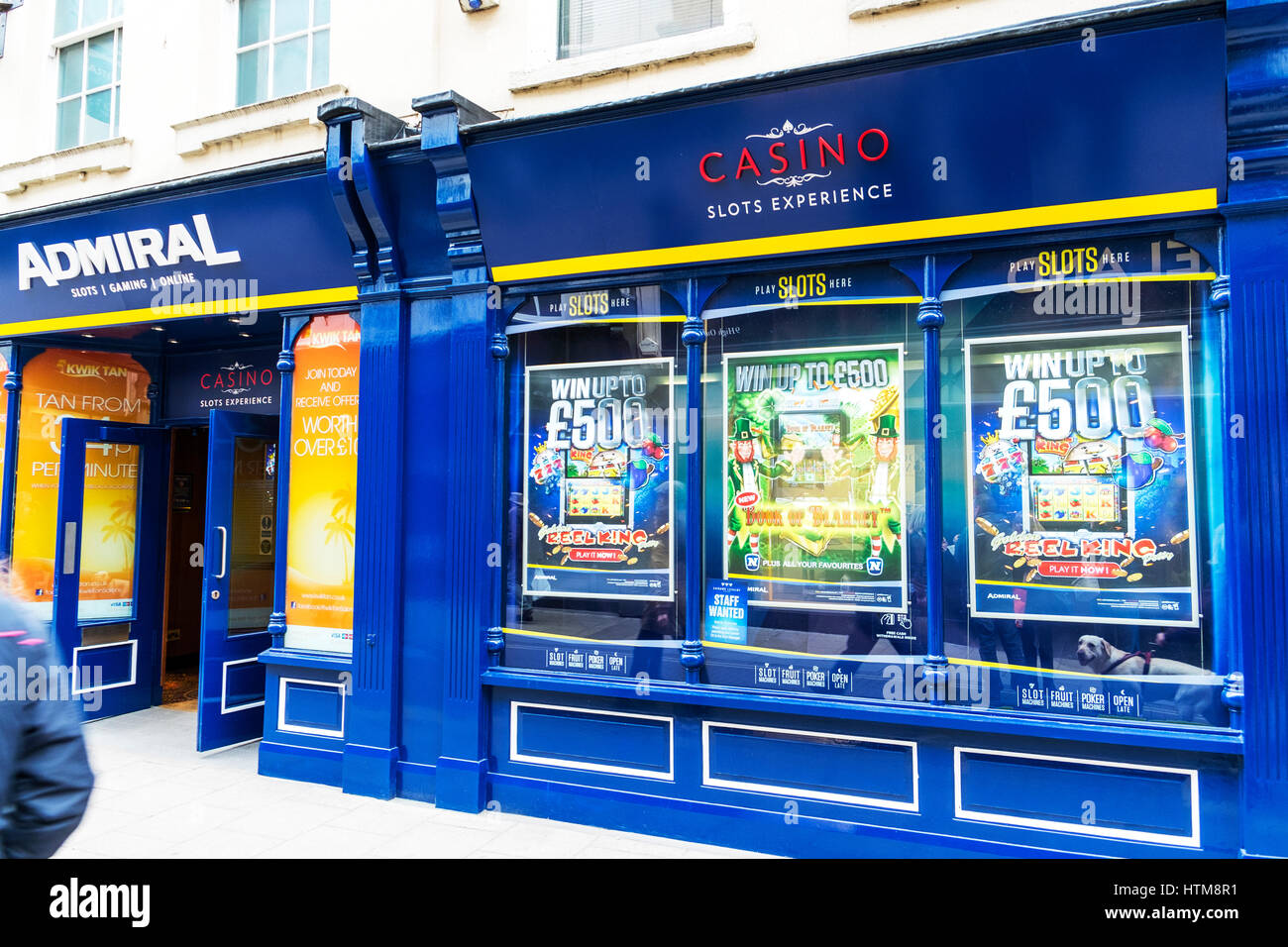 Machine à sous slots casino Admiral Admiral arcade arcade jeu slots Admiral casino casinos UK Angleterre high Photo Stock